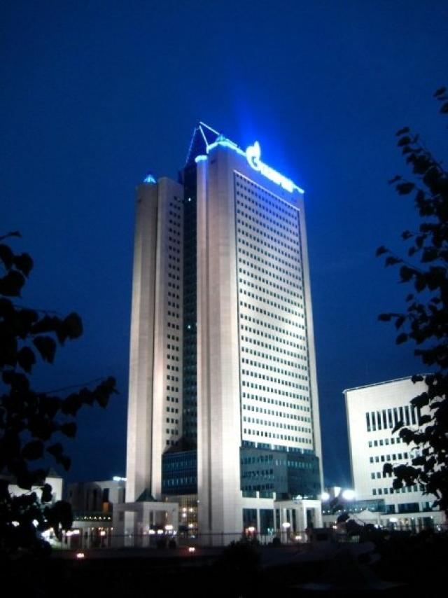 Главный офис Газпрома. Москва