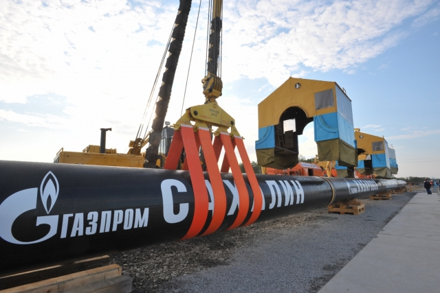 Сварка первого стыка газотранспортной системы «Сахалин — Хабаровск — Владивосток»
