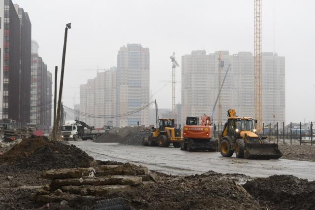 В Кудрово на границе с Петербургом появятся две новые дорожные развязки