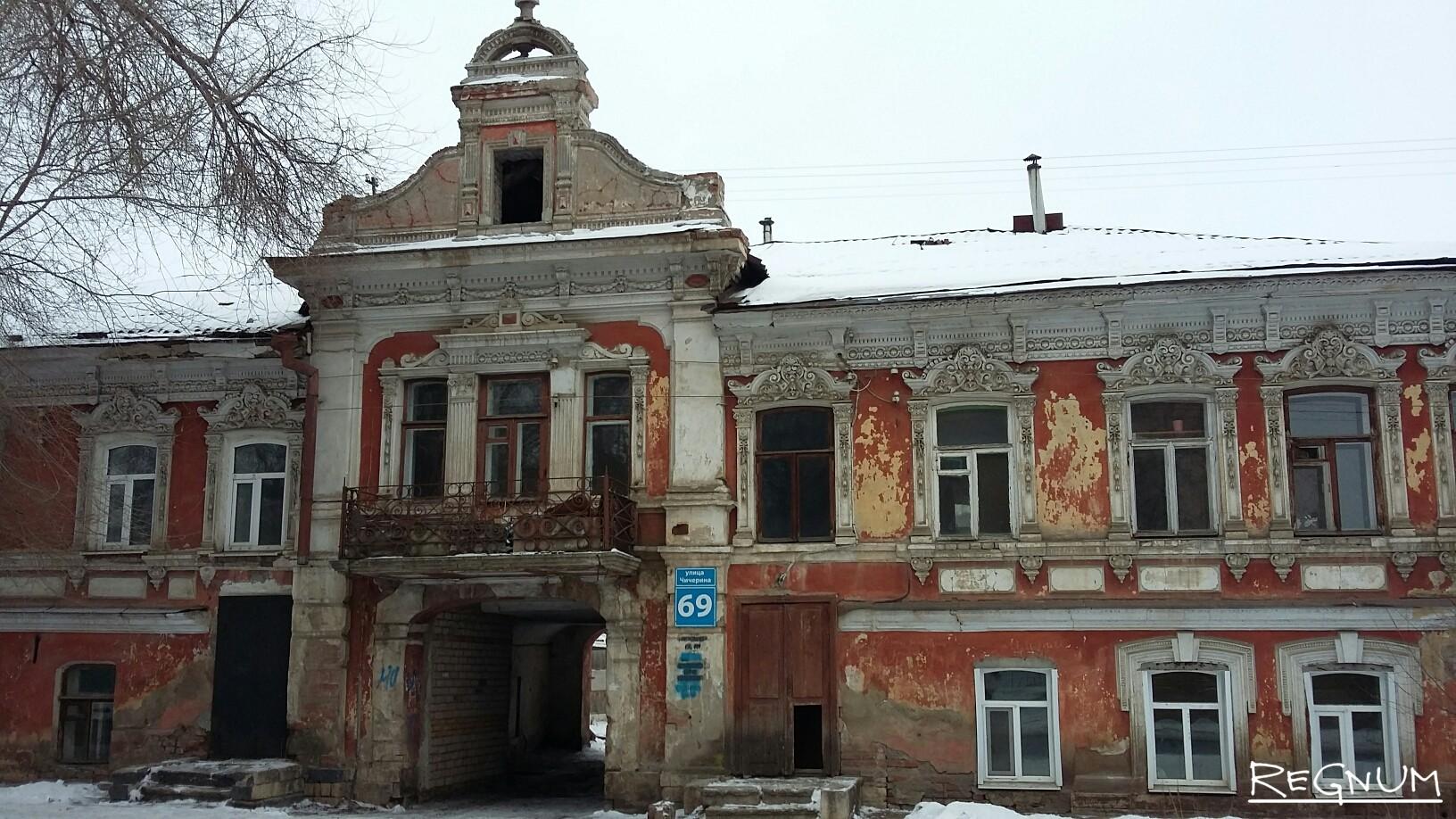 Дом городской усадьбы А.А.Сазонова. 1904-1905 гг.