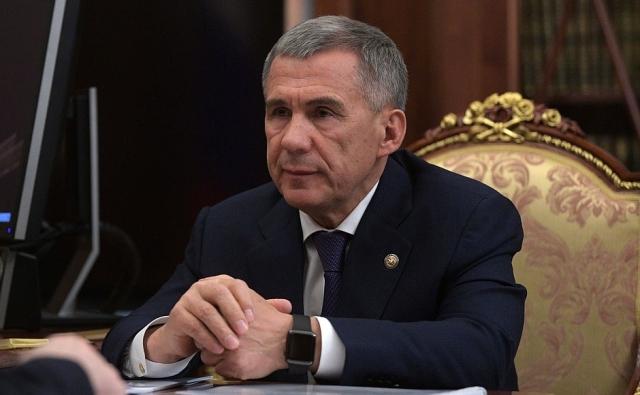 Глава Татарстана Рустам Минниханов