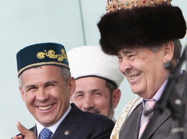 Минтимер Шаймиев и Рустам Минниханов