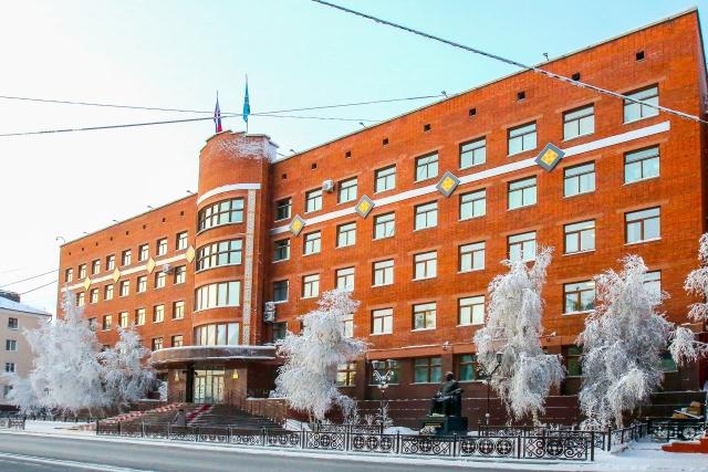 Здание Государственного собрания Республики Соха