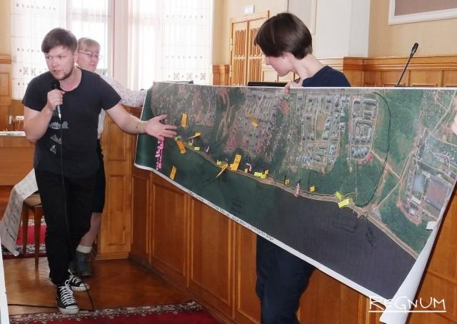 «Волга-мама»: набережную в Чебоксарах готовят для бизнеса