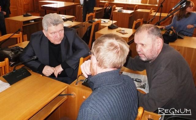 В центре — главный архитектор Чувашии Александр Шевлягин