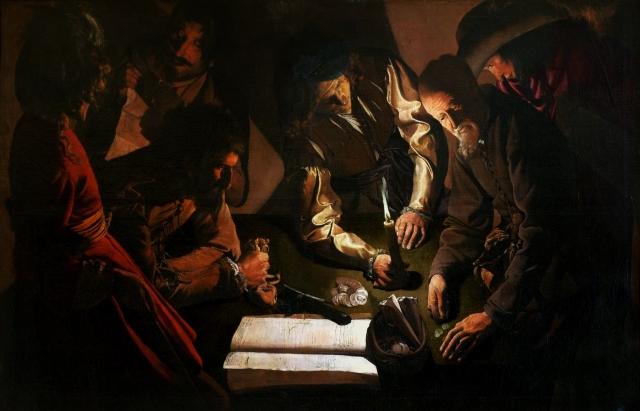 Жорж де Латур. Платеж (У ростовщика). 1635