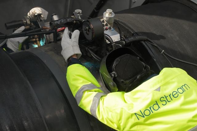 Сварка стыка газопровода «Северный поток — 2»