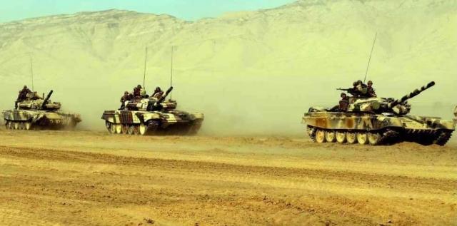 Танки азербайджанской армии