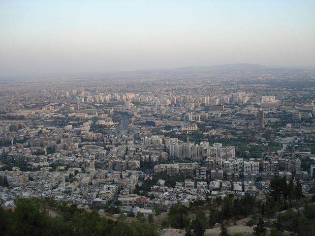 Сирийский город Гута