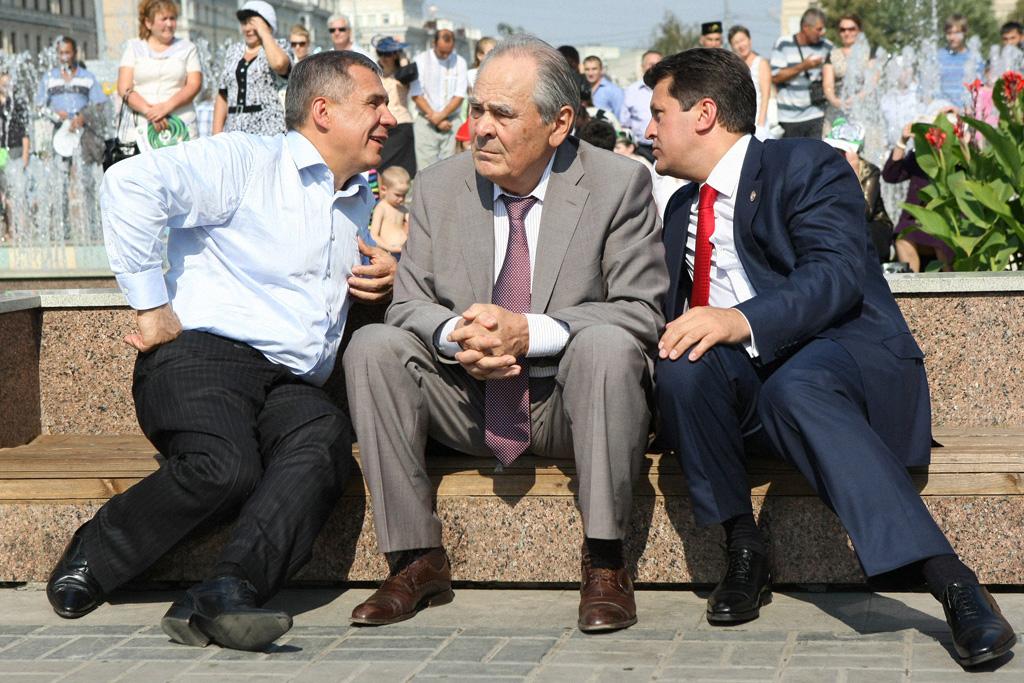 Рустам Минниханов, Минтимер Шаймиев, Ильсур Метшин