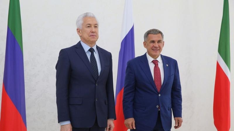 Владимир Васильев и Рустам Минниханов