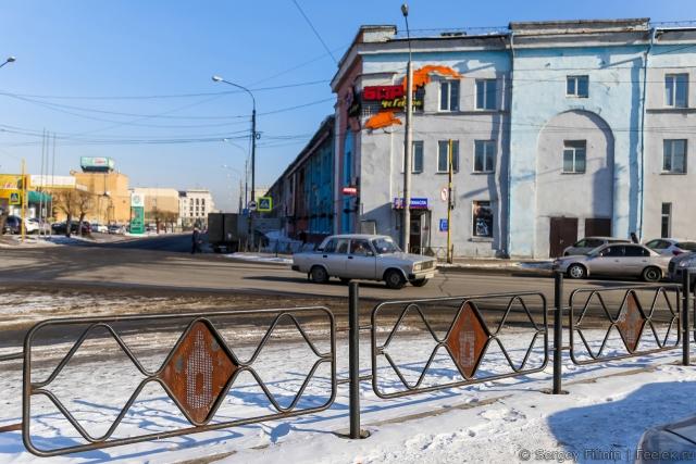 Власти Красноярска любят заборы