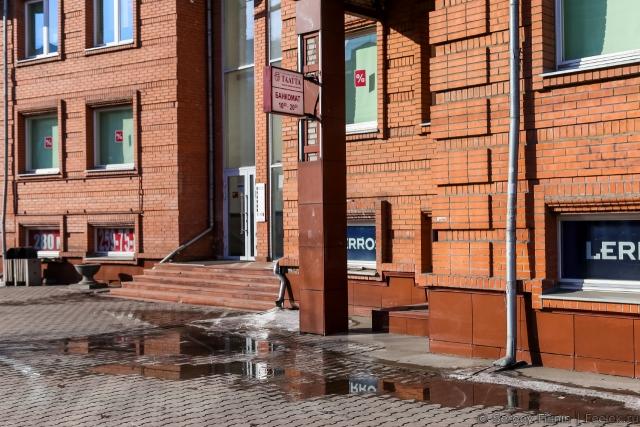 Турист рискует сломать ногу в Красноярске
