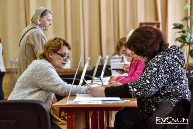 Работа избирательного участка