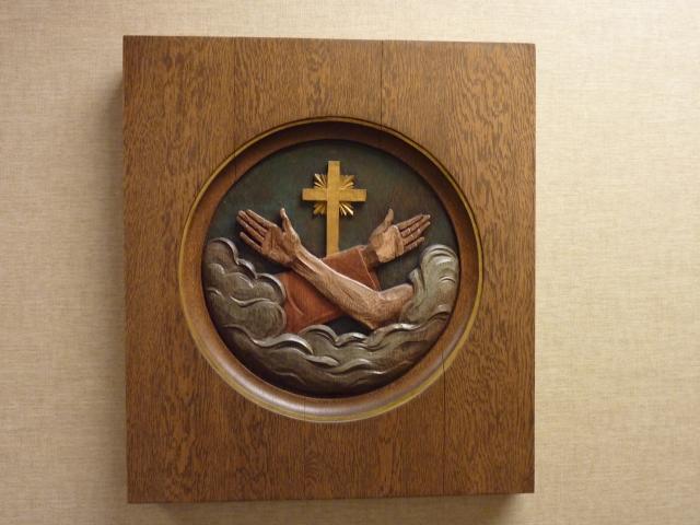 Герб францисканского ордена