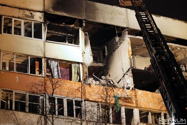 После взрыва газа в петербургском доме возбуждено дело