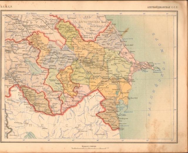 Карта АССР