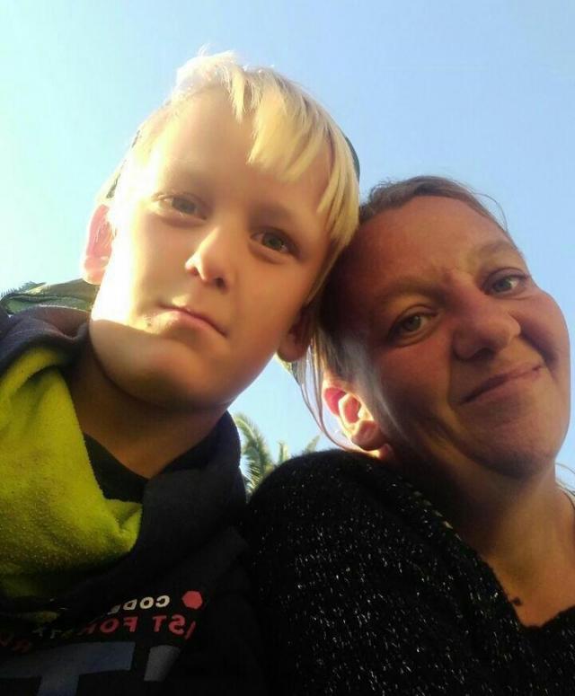 Соня Бергфельд и ее сын