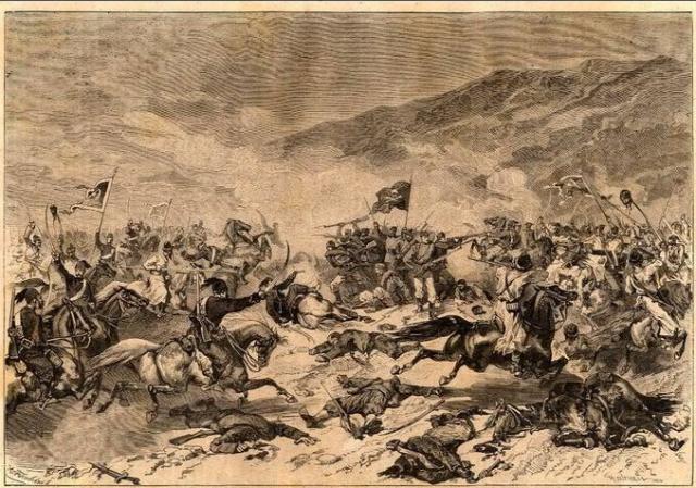 Битва сербов с турками