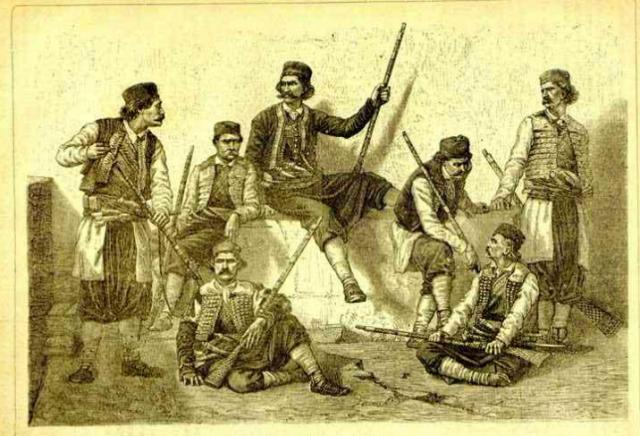 Черногорские воины