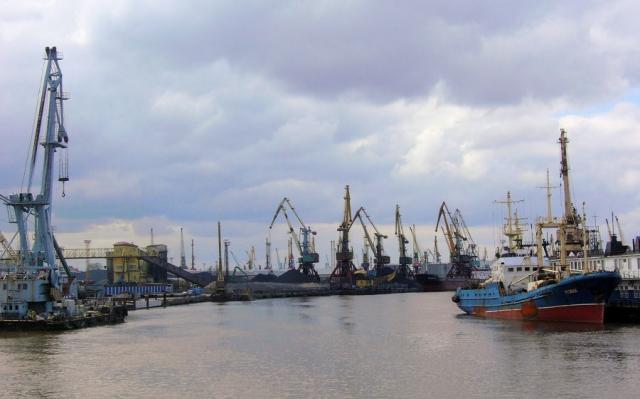 Порт. Калининград