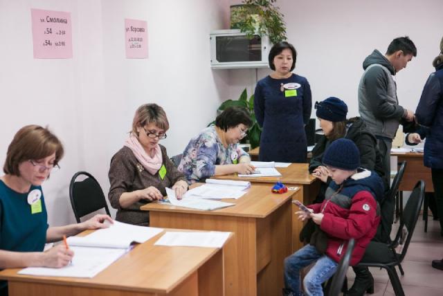 В Бурятии завершилось голосование на выборах президента РФ