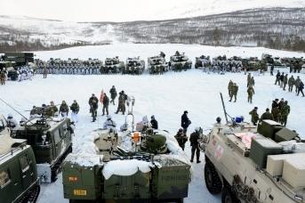 Учения НАТО в Арктике