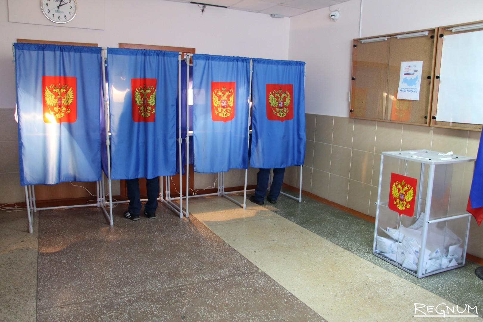Избирательный участок. Новосибирск