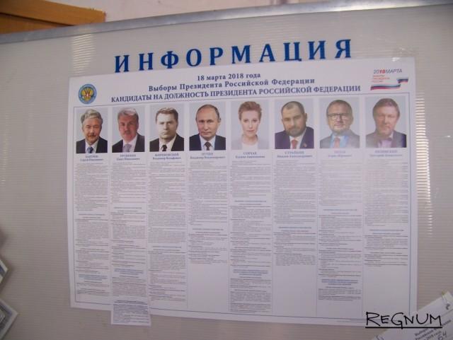Первые итоги выборов на Алтае: у Путина — более 64% голосов