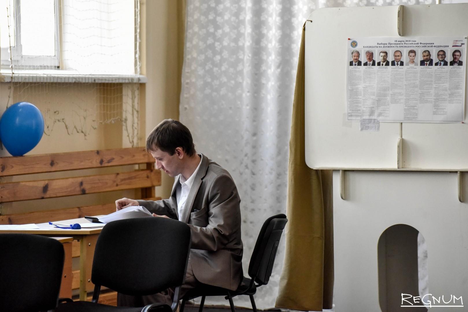 Выборы президента России в Москве