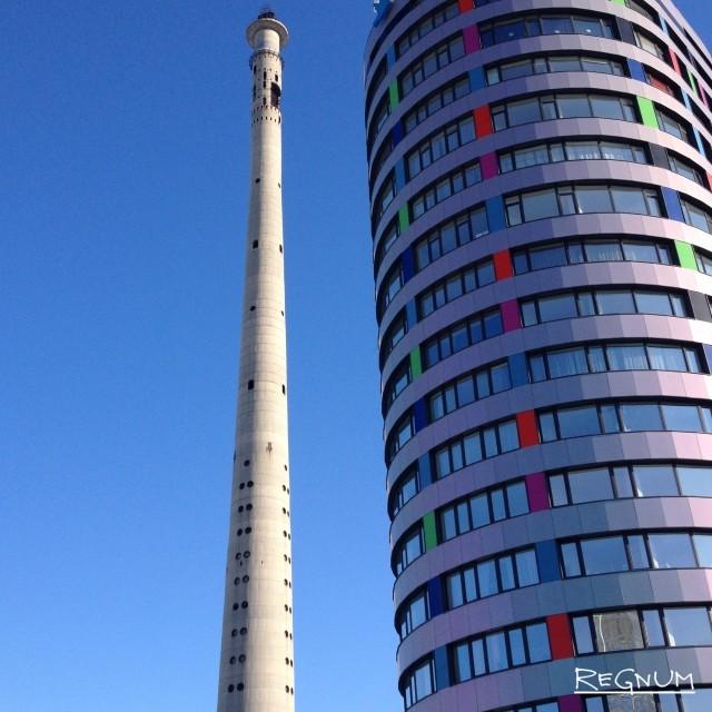 Устоит ли многоэтажка после подрыва телебашни?