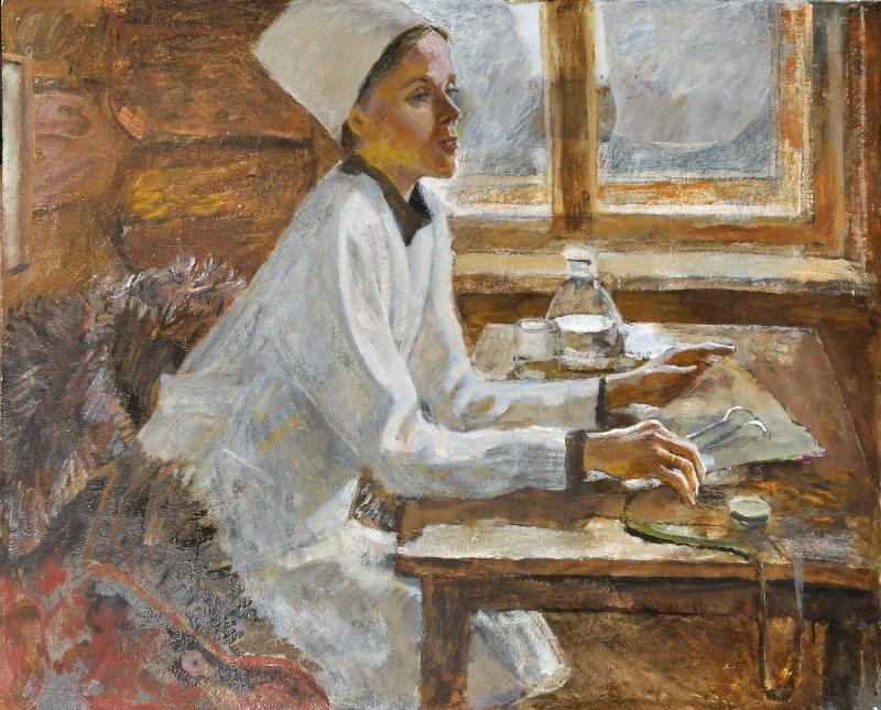 Александр Романычев. Сельский врач.1987