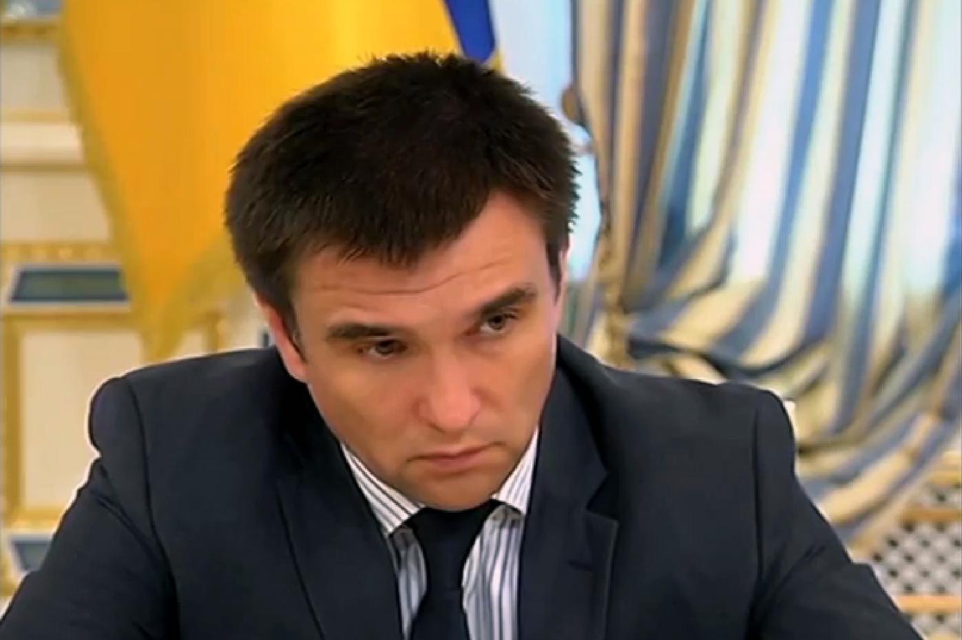 Министр иностранных дел Украины просит помощи у США
