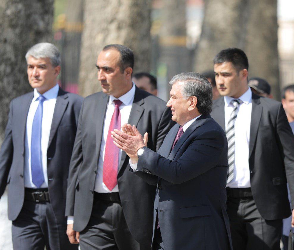 Шавкат Мирзиёев посетил Самарканд и принял участие в торжествах по случаю Навруза