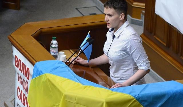 Савченко: «Главный враг мира на Украине — это украинская власть»