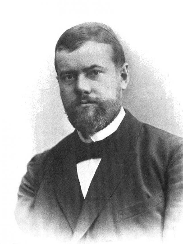 Макс Вебер в 1894 году