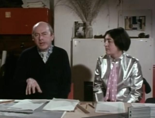 Элисон и Питер Смитсоны. Отметим их образы – одежда сконструирована и сшита самостоятельно