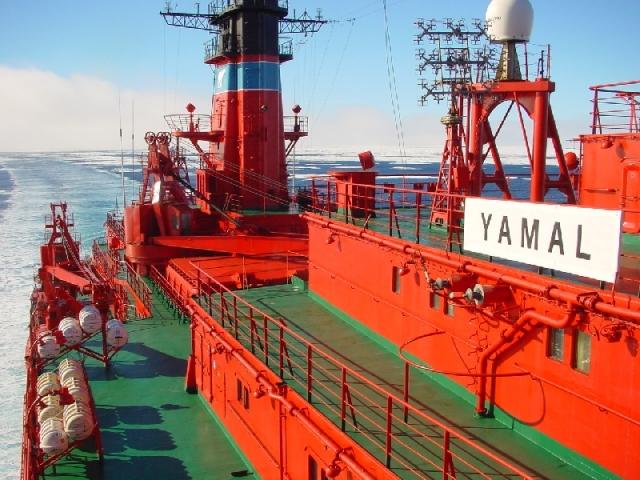 Атомный ледокол «Ямал», Северный морской путь