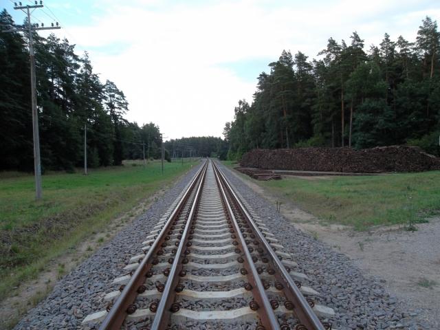 Совмещённая колея на участке Шяштокай-Моцкава (1520 мм и 1435 мм) для проекта Rail Baltica