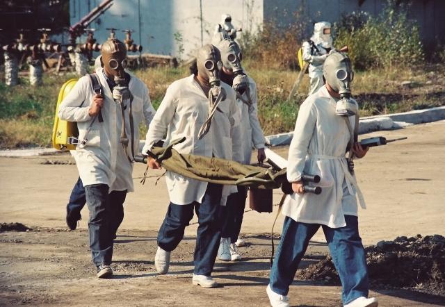 Химическая катастрофа. Учения