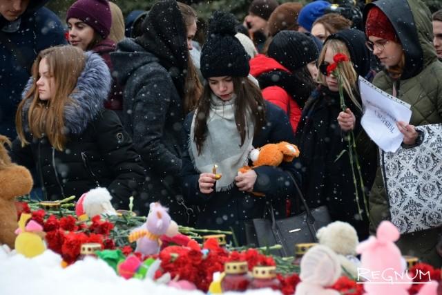 Траурный митинг в Воронеже