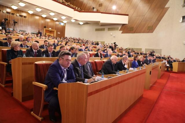 На заседании Госудаственного Собрания — Курултая Башкирии