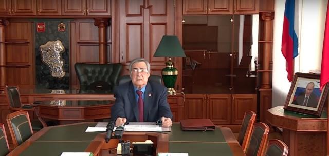 Тулеев заявил, что морально не может работать с «таким тяжелейшим грузом»