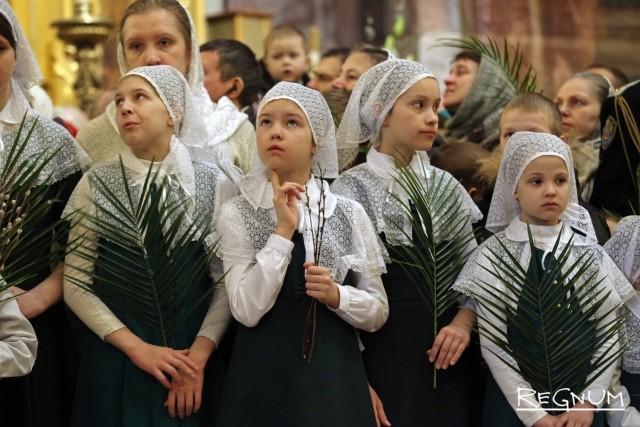 Дети воскресных школ Санкт-Петербургской епархии