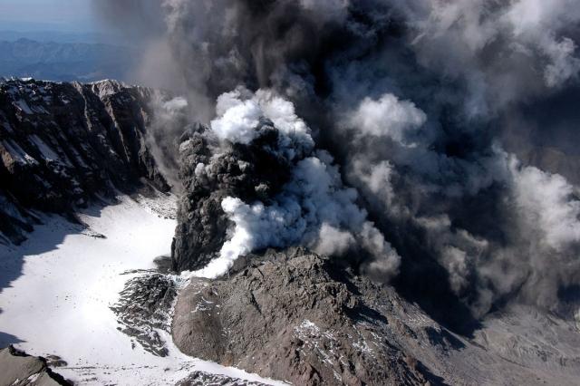 Вулканический газ