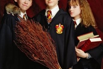 Главные герои фильмов про Гарри Поттера
