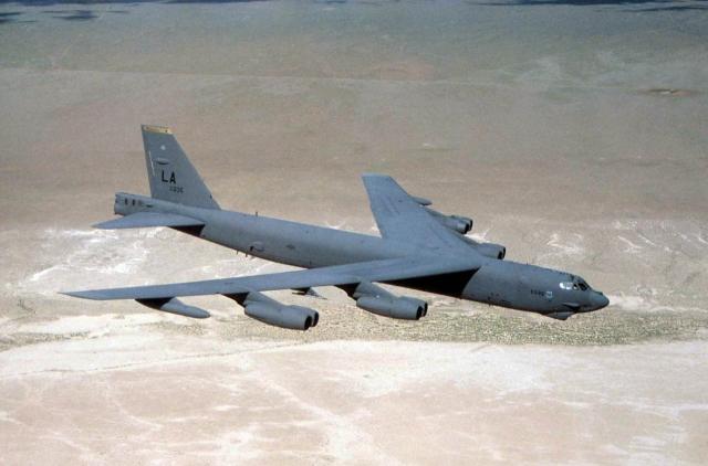Cтратегический бомбардировщик B-52