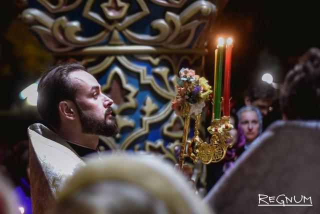 Праздничное богослужение в Храме Святого Равноапостольного Великого князя Владимира. Сочи