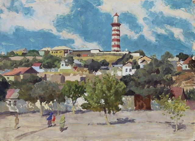 Александр Лещинский. Махачкала. Маяк. 1979
