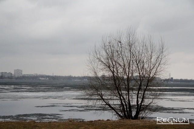 Воронежское водохранилище прощается со льдами